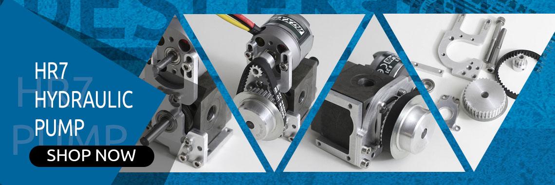 HR7 Hydraulic pump