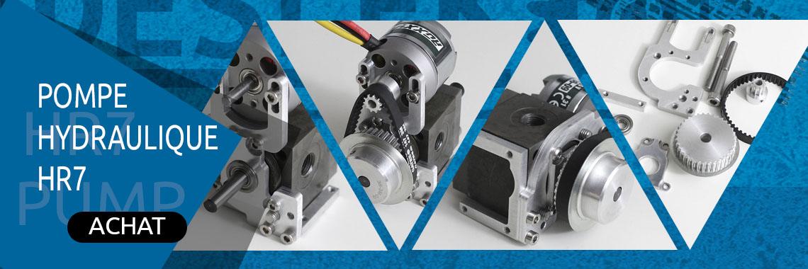 Pompe hydraulique HR7