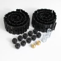 Kit completo di catene in acciaio per Carson LR634