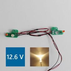 Mercedes SK PCB Front lights (Warm LED) 12.6V