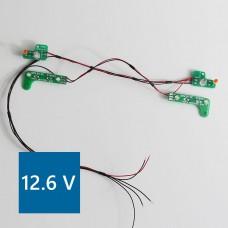 Mercedes 1838/1850 PCB Front lights 12.6V