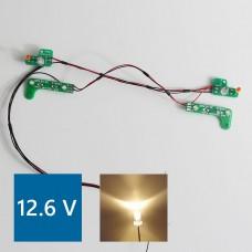 Mercedes 1838/1850 PCB Front lights (Warm LED) 12.6V