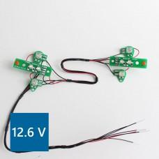 Volvo FH12 PCB Front lights (Warm LED) 12.6V