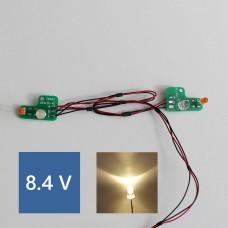 Mercedes SK PCB Front lights (Warm LED) 8.4V