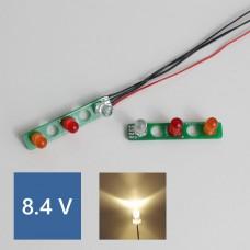 SK/1838/1850L PCB Rear lights (Warm LED) 8.4V