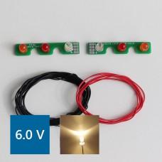 Volvo FH12 PCB Rear lights (Warm LED) 6.0V