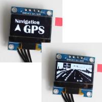 GPS Navigation simpleDisplay (white)