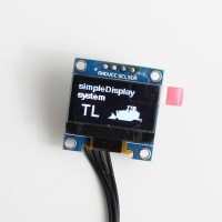 Info display for Track loader simpleDisplay (white)