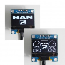 MAN Dashboard simpleDisplay (white)
