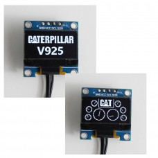 CAT V925 Dashboard simpleDisplay (white)