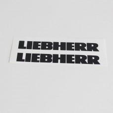 Logo LIEBHERR 110x15 (black)