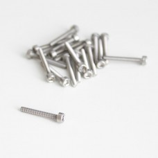 M1.6x12 Cylindrical screw with internal hexagon