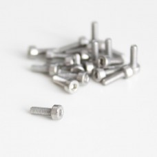 M2x6 Cylindrical screw with internal hexagon
