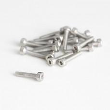 M2x10 Cylindrical screw with internal hexagon