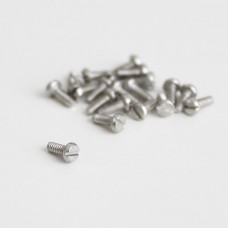 M1.6x4 Slotted head screw