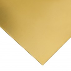Brass sheet 150x100x1 mm