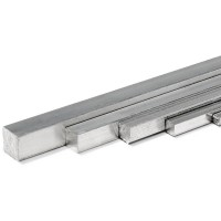 Square bar aluminum 8x8x200mm