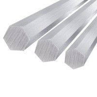 Hex aluminum bar 12x200mm